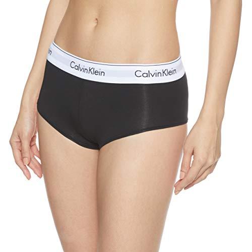 Calvin Klein Damen MODERN Cotton-Short Hipster, Schwarz (Black 001), 42 (Herstellergröße: XL)