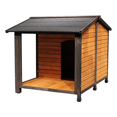 Kennel Hond Huizen Outdoor Effen Hond Huis Regendichte Zonnescherm Wasbare Villa Vierkant Geschikt Voor 20 Pond Huisdier Huizen, Kratten & Accessoires