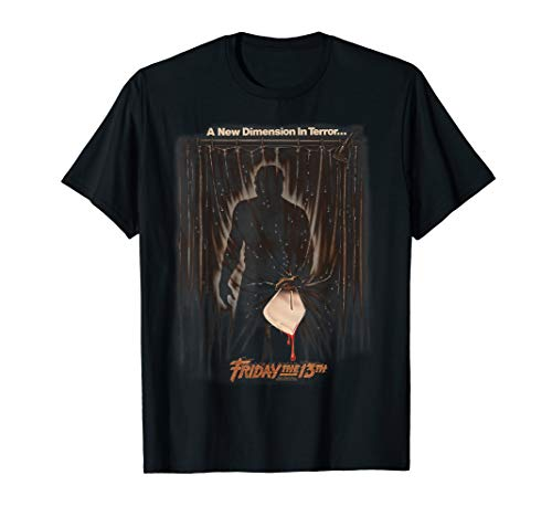 Friday the 13th New Dimension Poster T-Shirt
