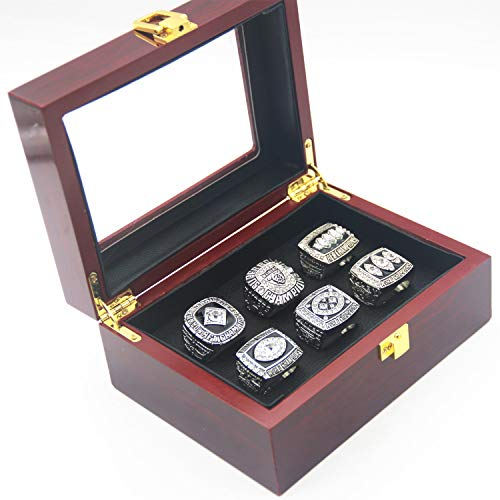 Las Vegas1967 2002 AFL and 1976 1980 1983 Raiders champions super bowl Rings Set with Box Gifts for Mens Women Boys Kids Youth Championship Rings