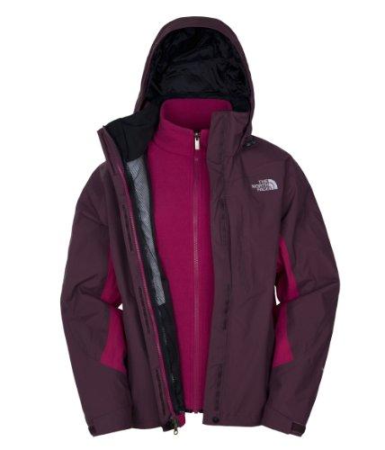 The North Face Veste Fonctionnelle Triclimate modèle Evolution XL - Bordeaux Red