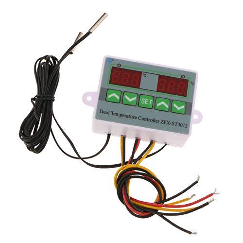 ZFX-ST3012 Mikrocomputer Intelligente Dual Digital Temperaturregler - 12V