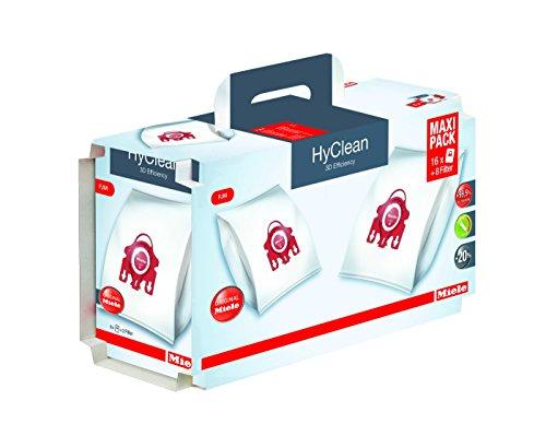 Miele 9922740 Maxipack (FJM HyClean 3D, 16 Staubbeutel, 4 Motorschutzfilter, 4 Abluftfilter)