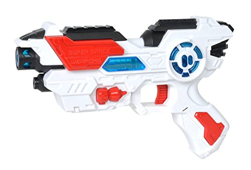 Simba 108042205 – Planet Fighter Space Shooter Laser Pistola, 23 cm