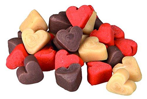 TRIXIE Bote Snack de Entrenamiento Mini Hearts, 200 g, Perro
