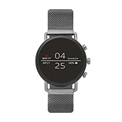 Smartwatches powered with Wear OS by Google work with iPhone and Android Phones Heart Rate & Activity Tracking using Google Fit; Built in GPS for distance tracking; Swimproof design 3ATM; Google Assistant built in   it's your own personal Google, alw...