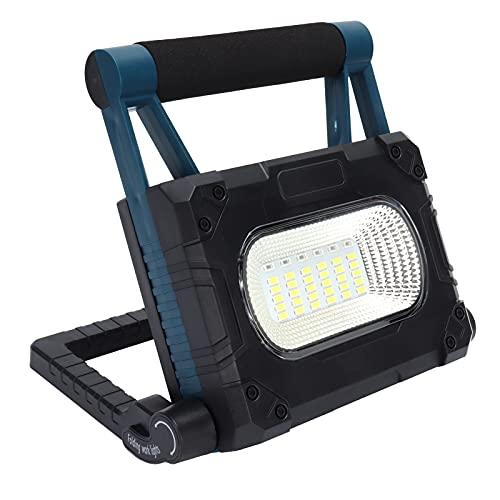 Surebuy Iluminación Exterior, lámpara de Emergencia Antideslizante a Prueba de Lluvia con Soporte para bucear para Acampar