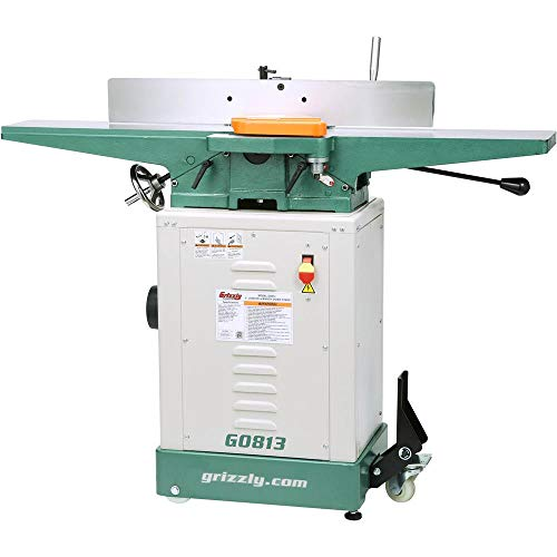 """Grizzly Industrial G0813-6"""" x 48"""" Jointer with Economy Stand"""