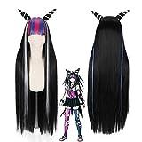 Ani·Lnc Anime Long Wig Women Cosplay Wigs Danganronpa v3 Cosplay Wig
