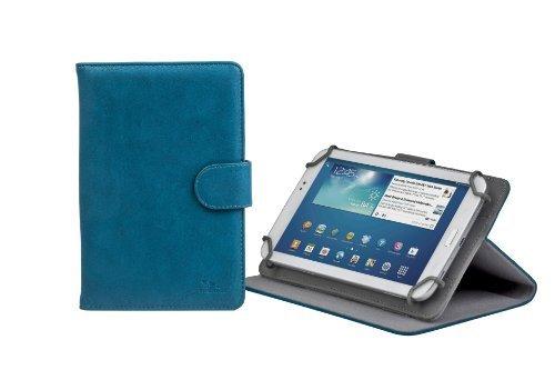 RivaCase 3012 Tablet Case 7' - Custodia Universale per Tablet da 7', Azzurro/Blu