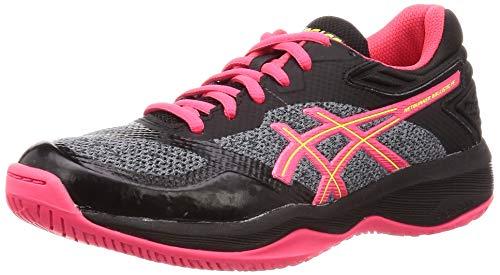 ASICS Damskie buty do siatkówki Netburner Ballistic Ff Noir/Rose, czarny - Czarny Laser Pink 001-40.5 EU
