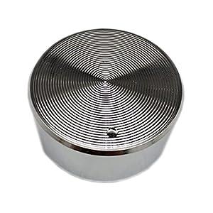 MMingx Interrupteur Rotatif en Chrome De Zinc en Métal De 5 Pièces pour Cuisinière À Gaz Pièce De Cuisson Pièce De Rechange Poignée De Métaux 6,0-6.3mm (Size : 6.0-6.3mm)