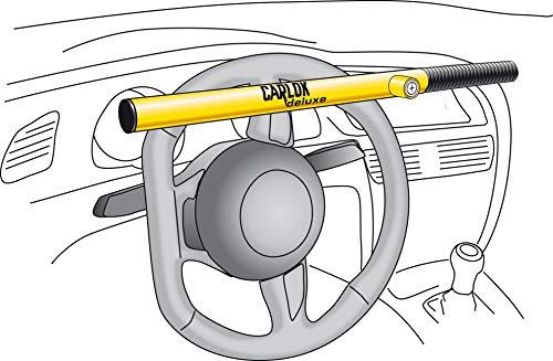 tierxxl KLEINMETALL Carlok Deluxe voiture Barre antivol volant griffes d'arrêt