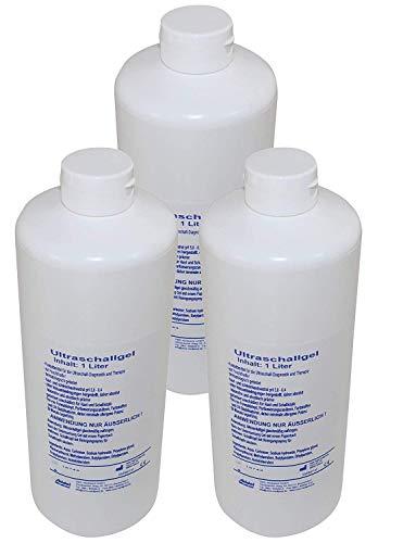 Seidel Ultraschallgel 3 x 1000 ml Kontaktgel