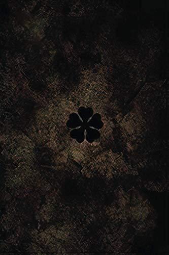 Notebook: Five Leaf Clover | Black Clover Grimoire Notebook Journal | Anime Notebook Journal for Anime Lovers | 120 Ruled Pages