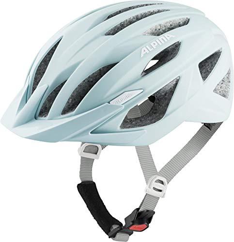 Alpina Unisex– Erwachsene Parana Fahrradhelm, Pastel Green matt, 55-59 cm