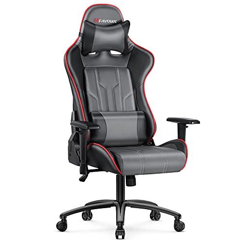sedia ergonomica rossa mfavour Sedia Gaming
