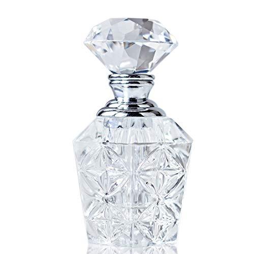 H&D Minifrasco de perfume de estilo vintage, vacío, 4ml