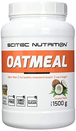 Scitec Nutrition Oatmeal, Gainer, Cocco, 1500 g