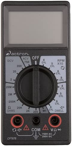 Actron Chicago Mall CP7676 Max 56% OFF Multimeter Digital
