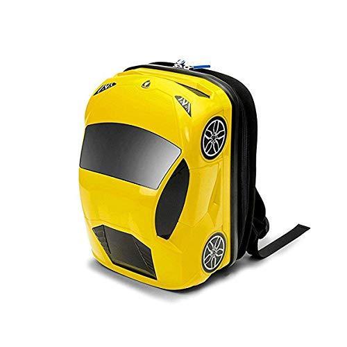 車型リュック Ridaz ライダーズ ランボルギーニ ウラカン イエロー バックパック キッズ用 車型ケース 子供用カバン