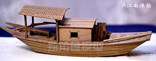 SIourso Maquetas De Barcos Kits De Modelo De Barco Modelo Escala 1/20...