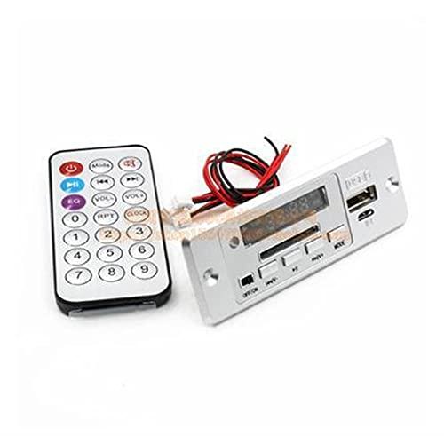 Wnuanjun 1Set Bluetooth 5.0 Verstärkerplatine 3W * 2 Stereo Amplificador WAV WMA MP3 Audio-Decoder-Platine FM SD U-Festplatten-Dekodierung DC3.7-5V (Farbe : MP3 Decoder)