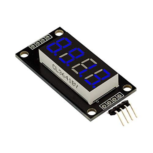TM16370.36 Inch 4-cijferig LED-display TM1637 Driver IC Digital Tube voor Arduino Blue Zonder klok