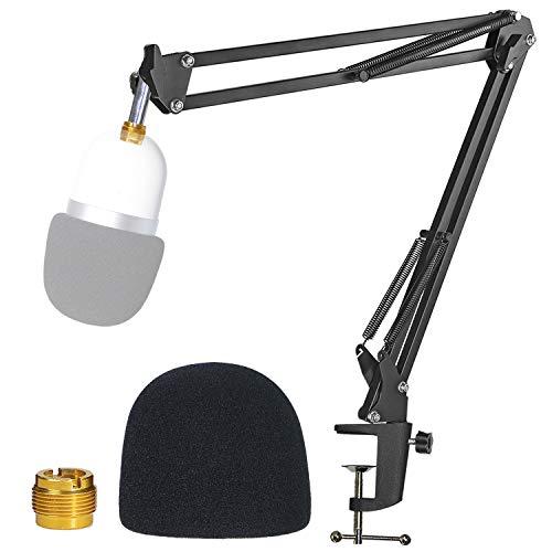 Razer Seiren Mini Support Microphone Professionnel Réglable avec Bonnette Micro en Mousse Améliorant la Qualité Sonore pour Microphone à Condensateur Razer Seiren Mini par YOUSHARES