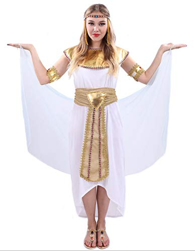 PARTY FIESTA Disfraz De Faraona para Mujer (L)