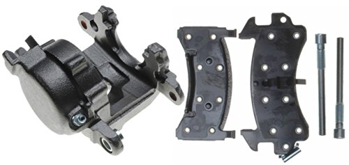ACDelco 18R625 Professional Front Passenger Side Disc Brake Caliper Assembly with Pads (Loaded), Remanufactured