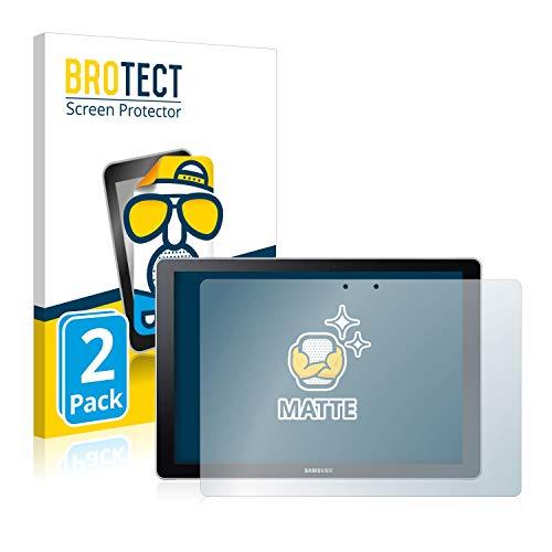 BROTECT 2X Entspiegelungs-Schutzfolie kompatibel mit Samsung Galaxy Book 12 Bildschirmschutz-Folie Matt, Anti-Reflex, Anti-Fingerprint