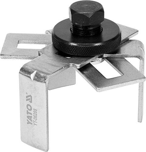 YATO professionele brandstoftank sleutel tangever sleutel 75-160 mm losgereedschap demontage gereedschap afzender