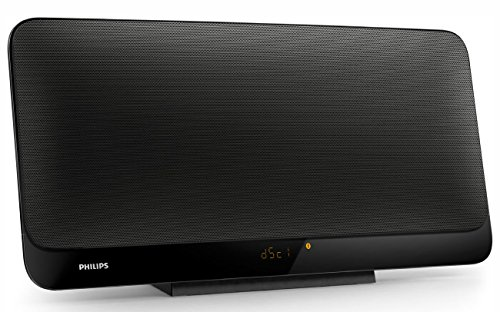 Philips BTM2460 Micro Sistema Musicale Compatibilie Bluetooth Multipair, Stereo, Colore Antracite Nero