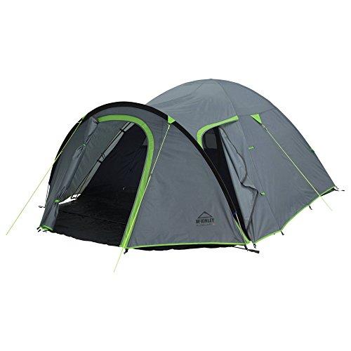McKINLEY Camp-Zelt Flinduka 2, H'Grau/Grün, One Size