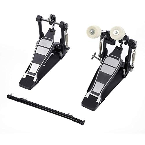 Bass Drum Kick/Fuß Pedal, Drums Pedal Double Bass Dual Pedal Fuß Kick Percussion Drum Set Zubehör