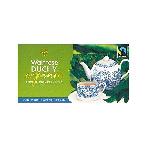 Ducato Waitrose Organico Colazione Inglese Bustine 25 Per Confezione - Confezione da 4