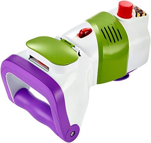 Disney Toy Story 4 Superlanzadiscos de Buzz, juguetes niños +4 años, (Mattel GDP85)