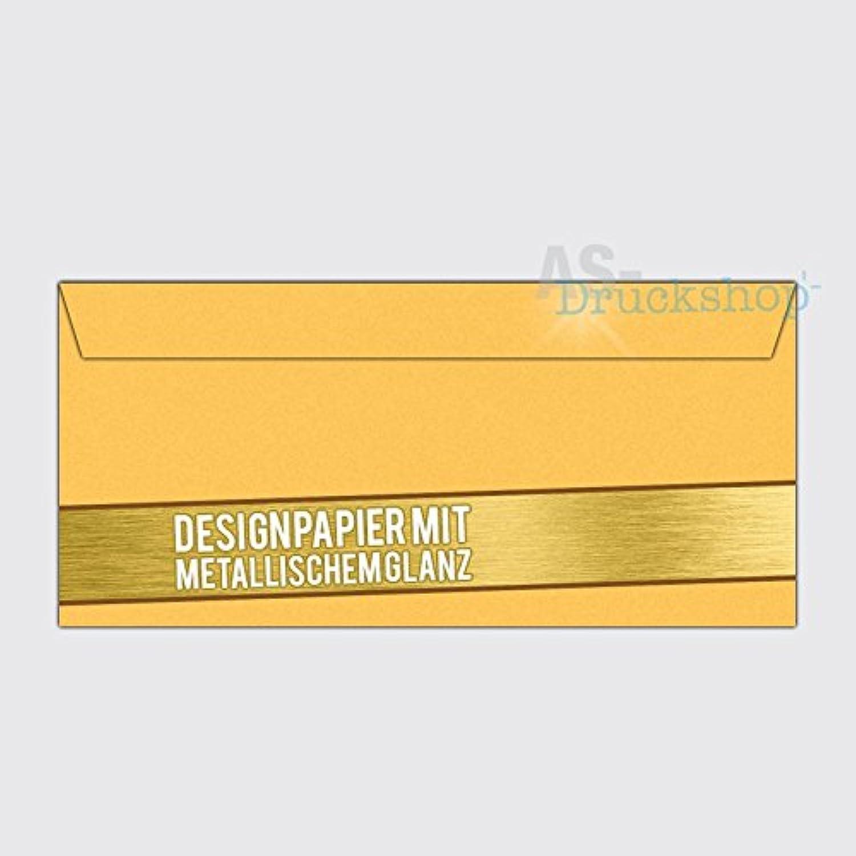 Briefumschlag   KuGrün KuGrün KuGrün DIN-Lang  Gold  - mit Metallic-Glanz - 50 Stück B01N6XAFQH | Neuheit  5b9eac