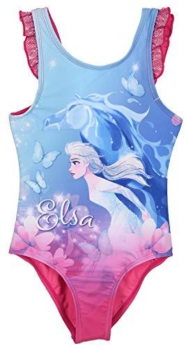 Frozen Bambina Costume da Bagno Un Pezzo