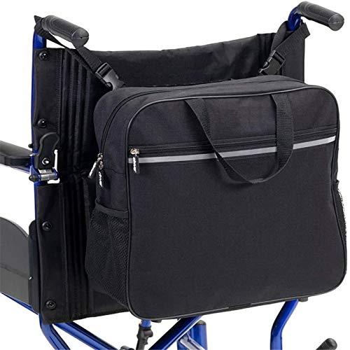 Sichere Rollstuhl-Aufbewahrungstasche, Universelle Wasserdichte Armlehnen-Seitentasche Für Rollstühle Und Gehhilfen, Ältere Hände, Freie Armlehnen-Aufhängerhalter-Aufbewahrungs-Seitentasche