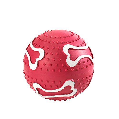 HUNTER Giocattolo per Cani Palla, 10 cmVollgomma Rosso