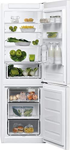Bauknecht KGL 1820 WS 2 Kühl-/Gefrierkombination/ 189 cm Höhe/ 339 Liter Gesamtnutzinhalt/LessFrost/Fresh Zone+/ Active Fresh/Superkühlfunktion/Active Freeze/weiß