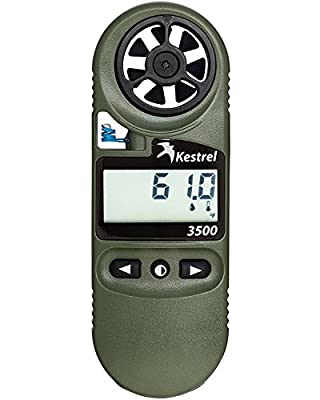 Kestrel 3500 Pocket Weather Meter / Digital Psychrometer Altimeter Anemometer, Yellow