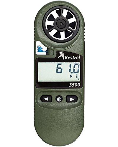 Kestrel 3500 Pocket Weather Meter / Digital Psychrometer Altimeter Anemometer, Yellow