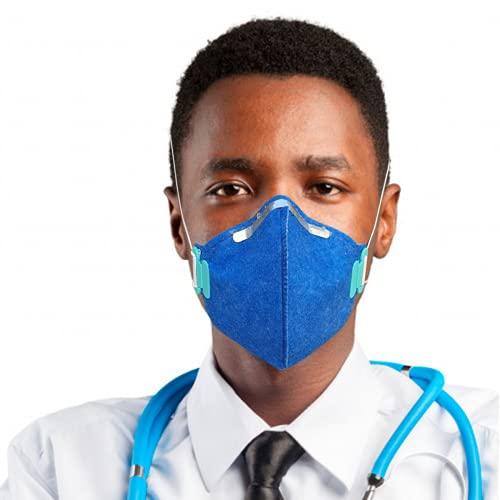 Kit 10 Máscaras N95/pff2 Proteção Respiratória Regulável