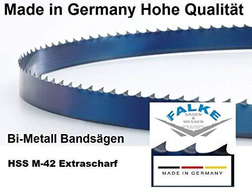 BAILEIGH Induzione. BS-128 M42 - Lama per sega a nastro, 1635 x 13 x 0,65 mm, 10/14 denti
