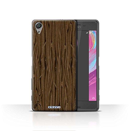 Var voor SXPZ-CC Chocolade Sony Xperia X Vlek