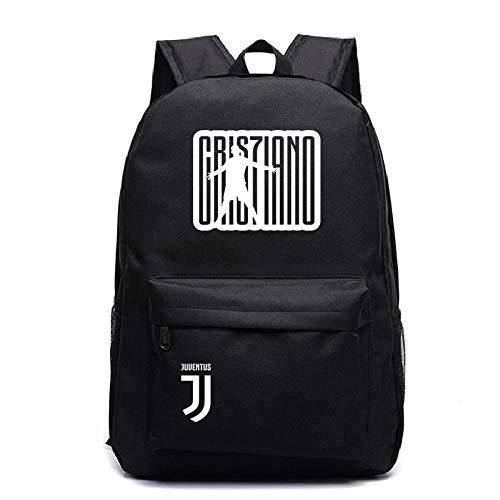HUYHUY Huyhuybeautiful Cristiano Ronaldo Cr7 Rucksack Neue Kinder Junge Mädchen Schule Geschenk Laptop Rucksack Schöne Männer Frauen Jungen Mädchen Schultasche-4