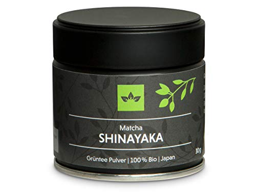 Bio Matcha Tee Shinayaka - Ceremonial Grade Super-Premium - Bio Grüntee Pulver von Oryoki, höchste Qualität aus Japan - 30g Organic Matcha Pulver in vakuumierter Verpackung